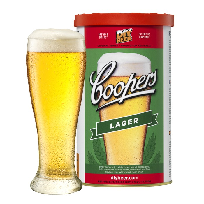 Coopers Lager (1,7kg)