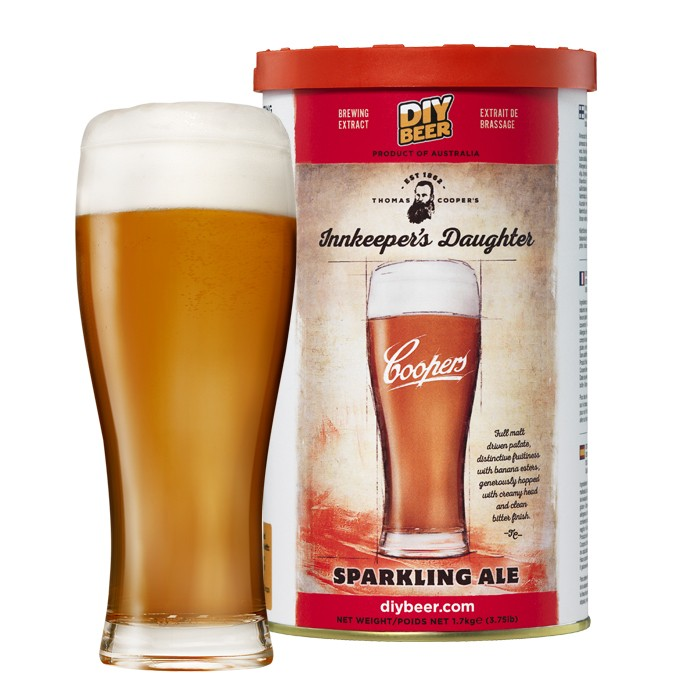 Coopers Innkeeper's Daughter Sparkling Ale (1,7kg)